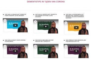 Moribus en consyst - Dementietips in tijden van Corona voor zorgprofessionals