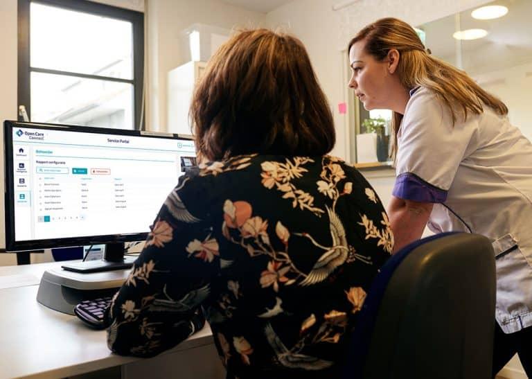Service Portal voor zorgorganisaties - Open Care Connect